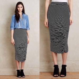 Anthropologie Dolan Synthesis Midi Skirt